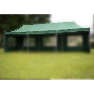Garthen 766 Náhradní střecha na zahradní skládací stan 3 x 9 m zelená