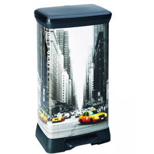 Curver DECOBIN 50L New York 39x29x73cm 02162-N29