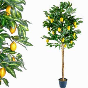 Tuin 1408 Umělá květina strom - citronovník - 184 cm