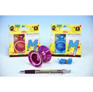 Teddies Jojo N5 Desperado Magicyoyo 55x4cm hliník/kov s ložiskem asst 3 barvy v krabičce