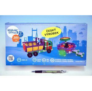 Seva City mini 2 Stavebnice plast 233ks v krabici 31,5x16,5x7,5cm