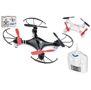 Dron RC plast 1na baterie + USB kabel pro dobíjení asst 2 barvy v krabici WIKY - UN30452