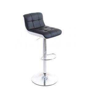 G21 Treama 51540 Barová židle koženková černo/bílá