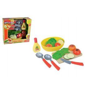 Teddies 53841 Krájecí sada zelenina s prkénkem 20ks plast v krabici 31x28x10cm