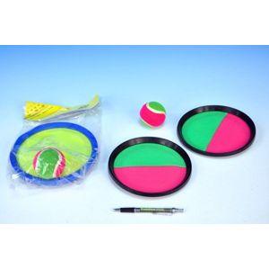 Teddies 54058 Lambáda/Catch ball hra 20cm asst 2 barvy v sáčku