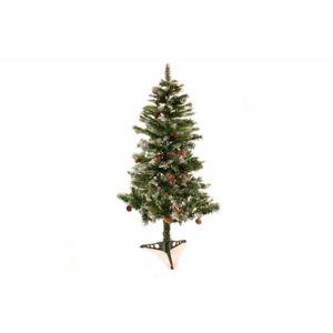 Nexos 2158 Umělý vánoční stromek se šiškami - 150 cm