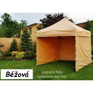 Tradgard PROFI STEEL 57104 Zahradní párty stan 3 x 6 - béžová