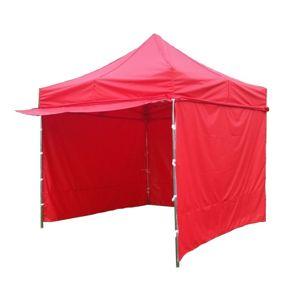 Tradgard PROFI STEEL 56466 Zahradní párty stan 3 x 3 - červená