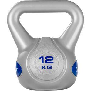 MOVIT® 12kg Kettlebell Kugelhantel dunkelblau