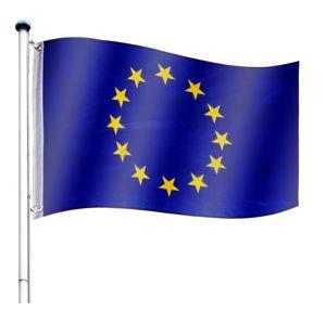 Tuin 60932 Vlajkový stožár vč. vlajky Evropská unie - 6,50 m