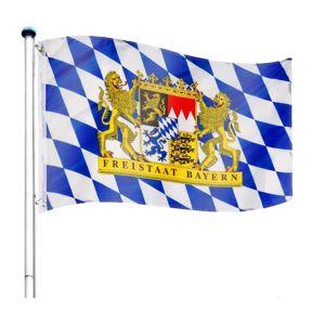 Tuin Bayern Vlajkový stožár vč. vlajky - 650 cm