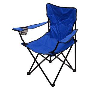 Cattara BARI Židle kempingová skládací modrá