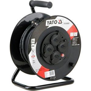 Yato Kabel prodlužovací 30m buben 4 zásuvky YT-81053
