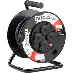 Yato Kabel prodlužovací 20m buben 4 zásuvky YT-81052