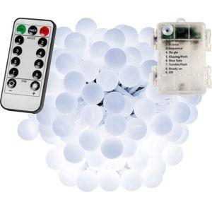 VOLTRONIC® Párty LED osvětlení 10 m - studená bílá 100 diod - BATERIE