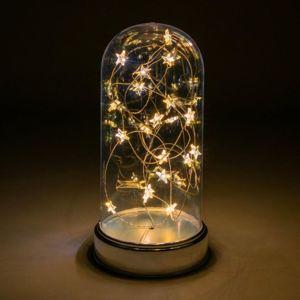 Nexos 64787 Vánoční svítící dekorace kopule - 20 LED, teple bílá