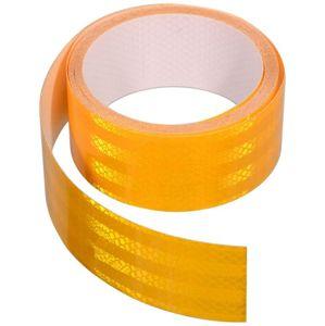Samolepící páska reflexní - 5 m x 5 cm, žlutá (role 5 m)