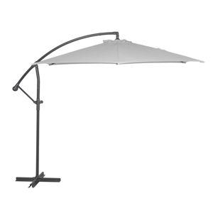 Slunečník Free Pole, šedý, 3 m