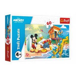 Puzzle Mickey a Donald Disney 33 x 22 cm 60 dílků